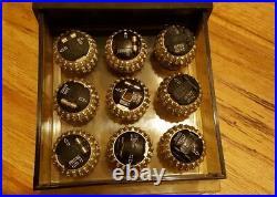 18 Vintage IBM Selectric Type Balls in Holder