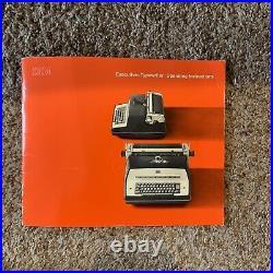 1967 Vintage IBM Executive Model D Electric Typewriter