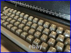 1976 Vintage IBM Selectric II Correcting Electric Typewriter Black NICE Working