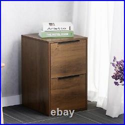 2 Drawer File Cabinet Wood File Cabinet MDF Vertical File Cabinet Letter File