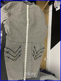 $395 Denim & Supply Ralph Lauren Large Jacket RRL Military Officer Tailcoat VTG
