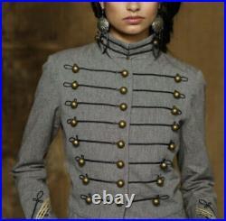 $395 Denim & Supply Ralph Lauren Medium Jacket RRL Military Officer Tailcoat VTG