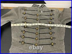 $395 New Denim & Supply XS Ralph Lauren Jacket RRL Military Officer Tailcoat VTG