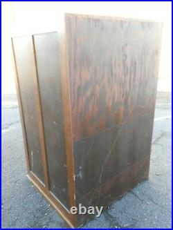 ANTIQUE Wooden Map Cabinet or Blueprint Flat File Art Storage Marygrove College