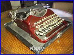 Antique Vintage 1930s Corona Standard Manual Typewriter serviced & Tested