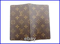 Authentic Louis Vuitton Monogram Note Book Diary Cover Browns Vintage