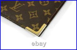 Authentic Vintage Louis Vuitton Monogram Notebook Note Pad Cover GM Professional