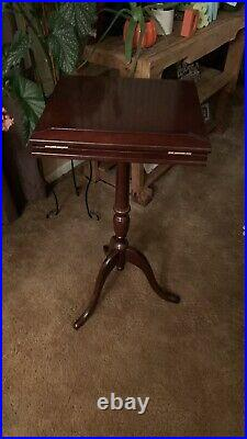 Bombay Company Wood Pedestal Vintage Podium Music Book Lecturn Bible Stand