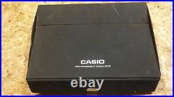 Casio Fx 802P RARE POCKET COMPUTER Calculator PROGRAMMABLE Vintage