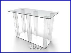 Clear Acrylic Plexiglass Church Communion Table Desk 11461-Glue Version