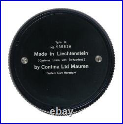 Curta Calculator Type II Ser 536639 RARE Vintage with original metal case