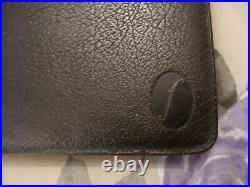 Filofax Deskfax Vintage B5 Notepad Organiser In Black Calf