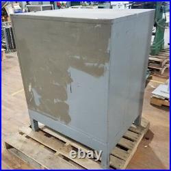 Fireproof 2 Drawer Door Industrial File Cabinet Safe Metal Storage Vtg CAN SHIP
