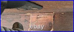 GUNLOCKE Ancient Oak Office Armchair A&C/Industrial era