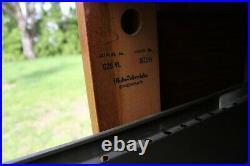 Globe Wernicke G25 VL Upright Quartersawn Golden Oak Wood File Cabinet 4 Drawer