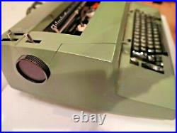 Great Vintage 70's Green Color Rare IBM Selectric II (2) Correcting Typewritter