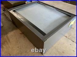 H Five Drawer Grey Large Flatfile File Art Map Blueprint Print Storage Unit H
