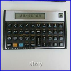 HP 15c Vintage Scientific Calculator With Soft Case, Very Good Cond, Tested, USA