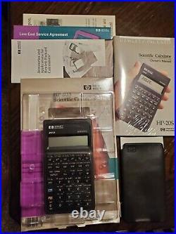 HP Hewlett-Packard HP-20S Scientific Calculator NEW In Package VINTAGE