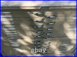 Hamilton 20 Drawer Metal Flat File Cabinet 47L x 36W x 36H
