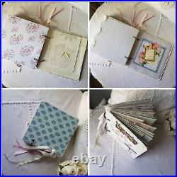 Handmade Vintage Inspired Embellished Memories Junk Journal Ephemera So Lovely