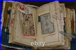 Handmade Vintage Style Japanese Junk Journal