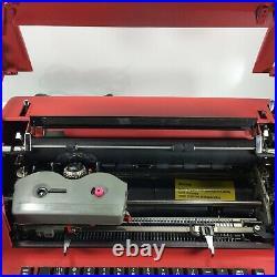 IBM Selectric II Correcting Electric Typewriter Round Type Head Vintage Red