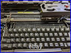 IBM Selectric II Vintage Electric Typewriter Blue Model Very Clean