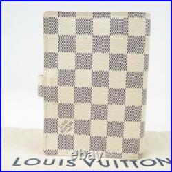 LOUIS VUITTON Damier Azur Agenda PM Vintage Notebook cover Women 72037
