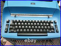 Local pick up only! Vintage Blue IBM Selectric 1 Electric Typewriter