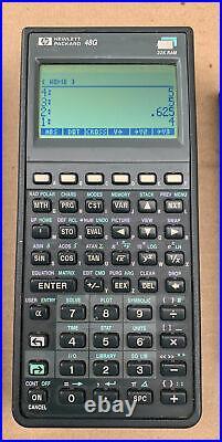 Lot of 5! Hewlett-Packard HP 49G 48G 20S 12C 10B Vintage Calculator