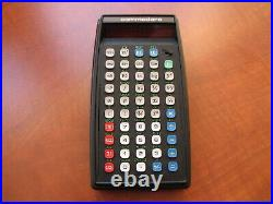 MINT Vintage Commodore SR4190 Scientific RED-LED electronic pocket Calculator