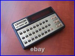 MINT condition Vintage NIXDORF LK-3000 RED-LED mini pocket computer (905189)
