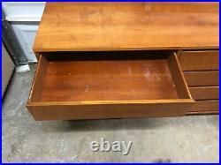 Mid-Century Modern Vintage 1950s Dresser, Credenza, TV Console and Walnut finish