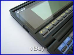 NEW NOS RARE Vintage CASIO SF-8000 64k LCD organizer computer calculator