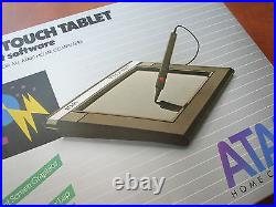 NEW NOS Vintage Atari Touch Tablet w original accessories and Artist software