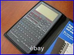 NEW NOS Vintage Texas Instruments PS-9500 LCD TimeRunner electronic diary PDA