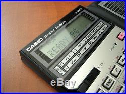 NEW Very RARE Vintage 1985 Casio FX-5200P LCD BASIC pocket computer calculator