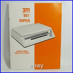 NEW Vintage 3M Copier 051 in Box RARE 20 Sets Dual Spectrum Copy Paper Untested