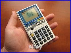 NEW in BOX RARE NOS Vintage CASIO MG-777 LCD Clock & Game Calculator
