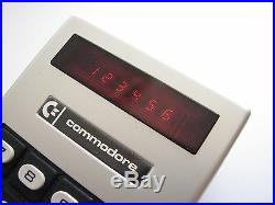 NEW in BOX Vintage 1973 NOS Commodore Minuteman Mini RED-LED Basic calculator