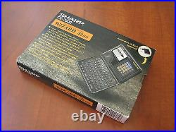 NOS RARE Vintage SHARP OZ7600 32 LCD electronic organizer computer calculator