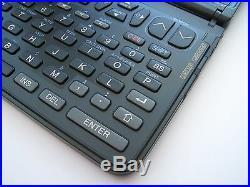 NOS RARE Vtg. SHARP OZ-8200 128k LCD electronic organizer computer calculator