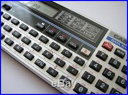 Never used Vintage 1984 NOS Casio PB-120 LCD BASIC pocket computer calculator