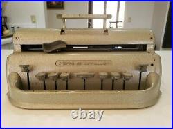 PERKINS BRAILLER David Abraham Howe Press School For the Blind Vintage BRAILER