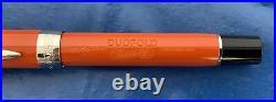 Parker Duofold Centennial Fountain Pen, Classic Big Red Vintage, Medium Gold Nib