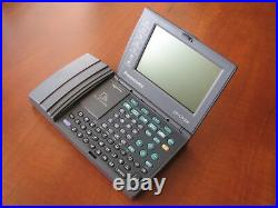 RARE Vtg. NOS Panasonic NeoFile LCD electronic organizer business card scanner