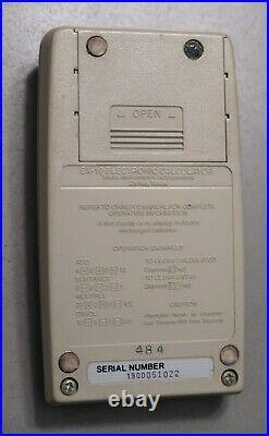 TI Texas Instruments EXACTRA EX 19 20 Vintage Calculator STAR WARS LIGHT SABER