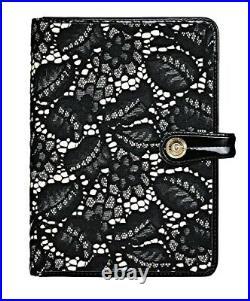 Temperley London Filofax Vintage The Affair Organizer Diary Lace Leather RARE