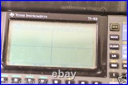 Texas Instruments TI-92 Vintage Scientific Graphing Calculator
